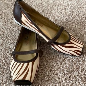 Poetic License Leather Ballet Flats